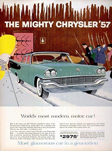1957 CHRYSLER WINDSOR 4-Door SEDAN