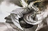 Artists of Magic Premium Playmat - WINGS Autographed by the Artist KEKAI KOTAKI