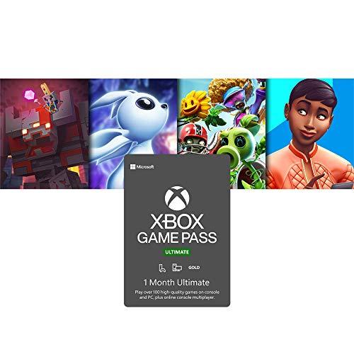Xbox Game Pass Ultimate: 1 Month Membership [Digital Code]