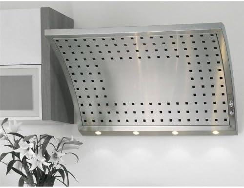 Capó Homeier pared 60 cm ventilador con Motor 440 ArcusIV interna de acero inoxidable campana extractora de cocina sin ventilador capó con iluminación halógena: Amazon.es: Juguetes y juegos