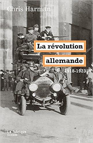 Livre La révolution allemande (1918-1923) epub pdf
