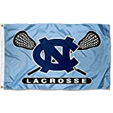 College Flags and Banners Co. University of North Carolina Lacrosse 3x5 Flag