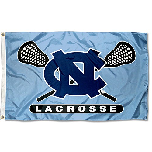 College Flags and Banners Co. University of North Carolina Lacrosse 3x5 Flag by College Flags and Banners Co.