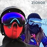ZIONOR XA Ski Snowboard Snow Goggles for Men Women