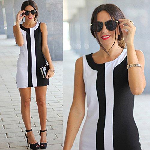 bee751f97 85% de descuento Fastar vestidos de fiesta cortos para mujer - en blanco y  negro