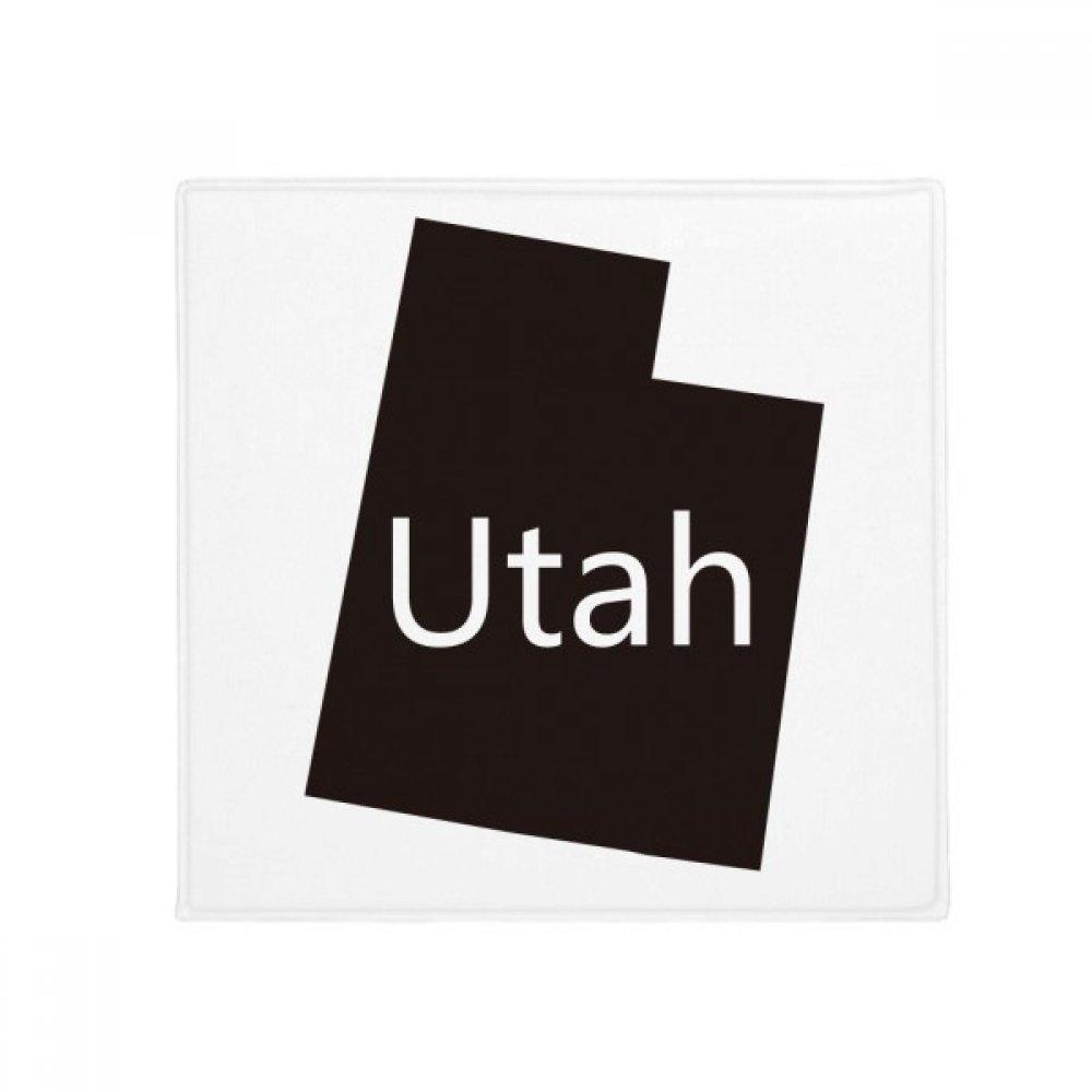 DIYthinker Utah The United States of America Map Anti-Slip Floor Pet Mat Square Home Kitchen Door 80Cm Gift