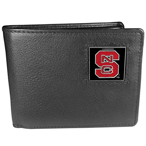 NCAA North Carolina State Wolfpack Leather Bi-fold Wallet