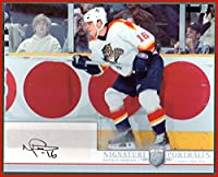 Nathan Horton FLORIDA PANTHERS AUTOGRAPH 2006-07 BAP Be A Player Signature Portraits JUMBO 8x10 #SP-NH