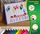 Crayola Construction Paper Bulk, 10 Colors, Great for Crafts, 480 Count