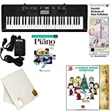 Homeschool Music - Learn to Play the Piano Pack (Disney Classics 5 Finger Bundle) - Includes Casio CTK 2400 Keyboard w/Adapter, learn 2 Play DVD/Book, Books & All Inclusive Learning Essentials