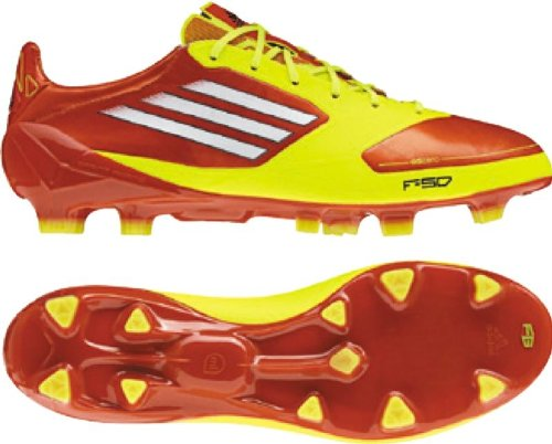| adidas F50 Adizero TRX FG Junior, OrangeYellow