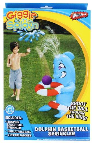 Wham-O Dolphin Basketball Sprinkler Giggle 'n Splash