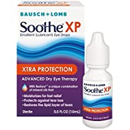 Bausch + Lomb Soothe XP Dry Eye Drops, Xtra Protection Lubricant Eye Drop with Restoryl Mineral Oils, 0.50oz