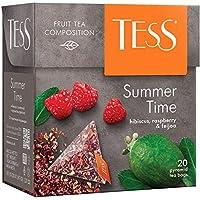 Tess, Summer Time, hibiscus, raspberry and feijoa (flor de Jamaica, frambuesa, feijoa) - Té de hoja en bolsitas…
