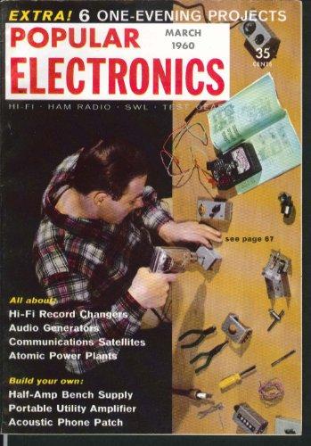 POPULAR ELECTRONICS Communications Satellites Atomic Power Plants 3 1960