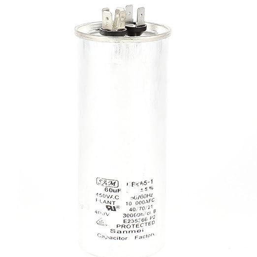 AC450V 60uF Compresores película del polipropileno de ...