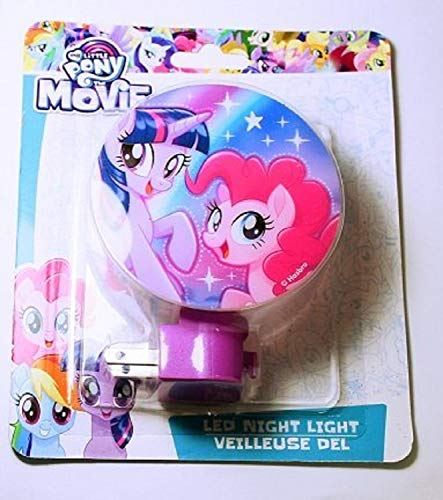 My Little Pony The Movie LED Night Light featuring Twilight Sparkle and Pinkie Pie -