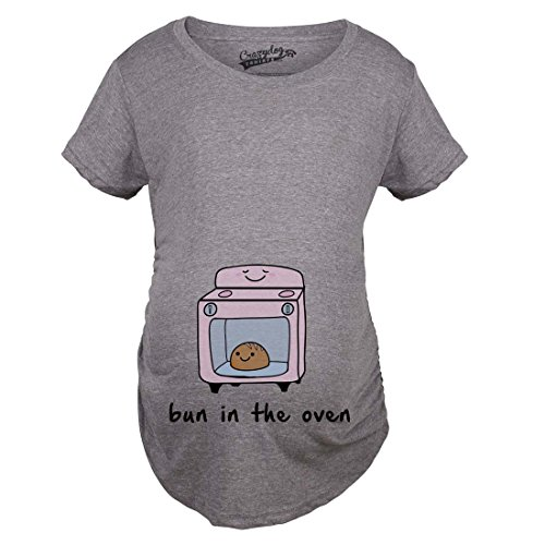 Relatively Funny Maternity Shirts - Experienced Mommy KD01