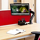 iKross Single Arm Monitor Desk Mount with C Clamp