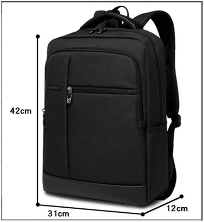 Backpack LCSHAN Shoulders Business Travel Fashion Simple Student Leisure Computer Bag Color : Gray