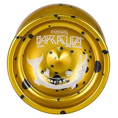 Duncan Barracuda Yoyo-Gold W/Splash: Toys & Games