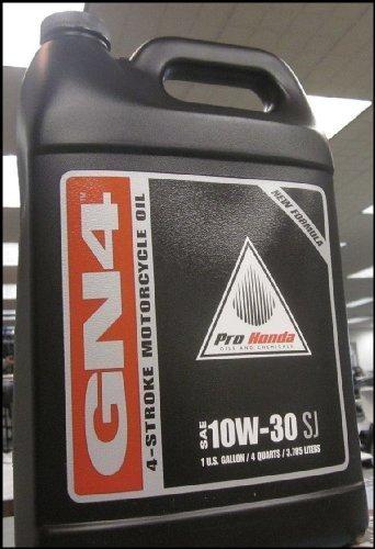 Oil Gallon Per (Honda GN4 10W-30 Motorcycle Oil - Gallon)