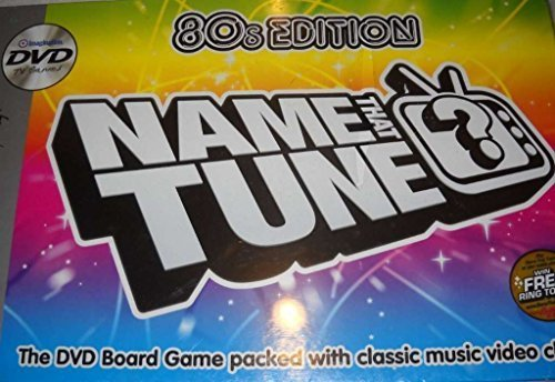 Edition Dvd Board Game - Name That Tune DVD Board Game - 80s Edition by Imagination by Imagination