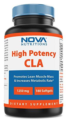 Nova Nutritions CLA 1250 mg 180 Softgels