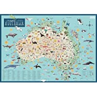 Australia: Illustrated Map