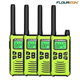 FLOUREON 4 Packs Walkie Talkies Two Way Radios 22 Channel 3000M