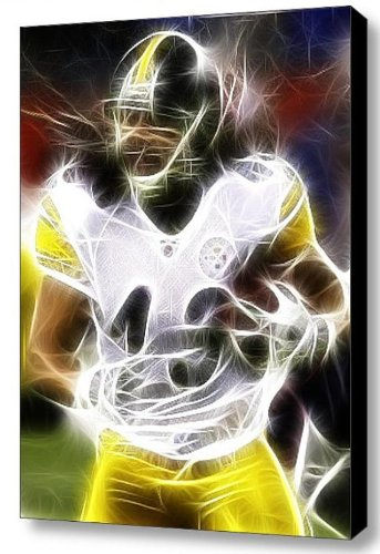 45cfcbe8a45 Amazon.com: Pittsburgh Steelers safety Troy Polamalu Magical Framed ...