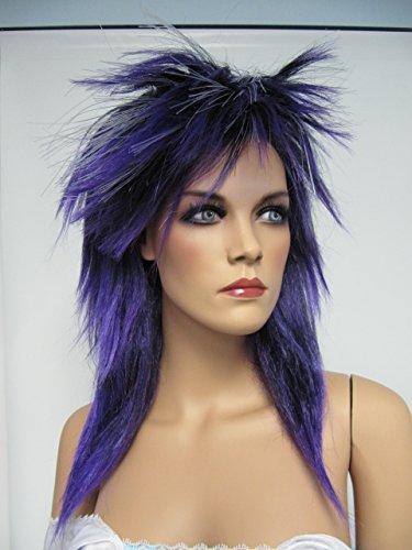 Purple Fiber Optic Wig (Fiber Optic Wig Purple)