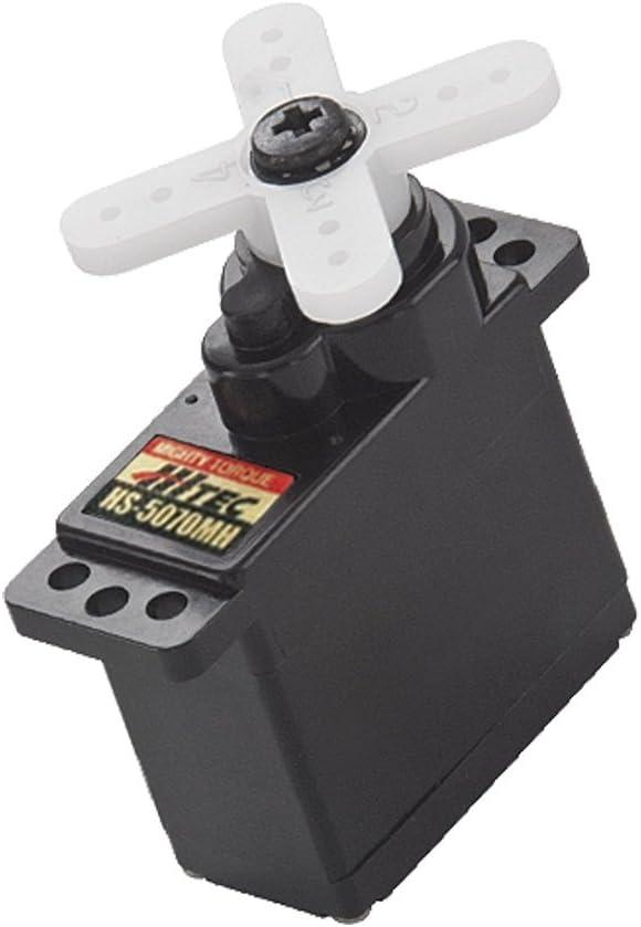 JR Hitec Mini-Servo HS-5070MH Digital-Servo Getriebe-Material Metall Stecksystem