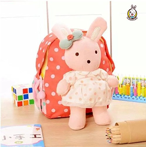 Hollwald?Children Anti-Lost Backpack Doll Removable Bags