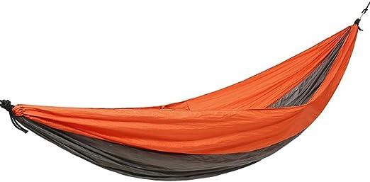Hamaca al Aire Libre Una Sola Persona Hamaca Jardín Hamaca Montañismo Silla de Ocio Hamaca para Acampar al Aire Libre Hamacas para el hogar Hamaca Columpio al Aire Libre Carga 300 Kg: