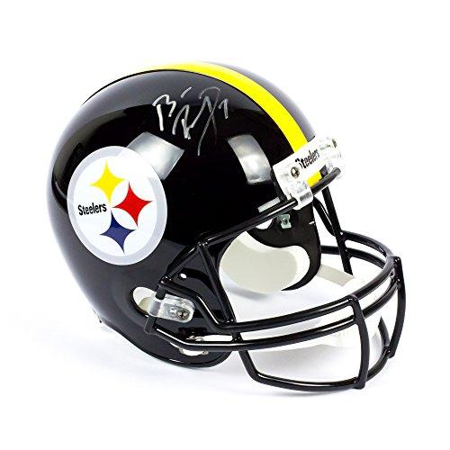 Ben Roethlisberger Pittsburgh Steelers Autographed Full Size NFL Helmet by Vintage Favs