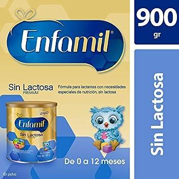 Enfamil Sin Lactosa, 900 gr, Fórmula Infantil Especializada para Bebés de 0 a 12 meses