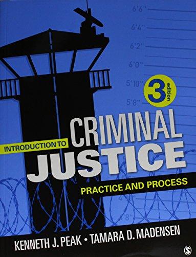 BUNDLE: Peak: Introduction to Criminal Justice 3e + Peak: Introduction to Criminal Justice IEB