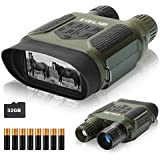 ESSLNB Night Vision Binoculars 400m/1300ft for 100% Full Darkness 7x31mm Night Vision Goggles with 32G TF Card and Photos Videos Recorder Function 2 inch LCD Infrared Binoculars with Night Vision