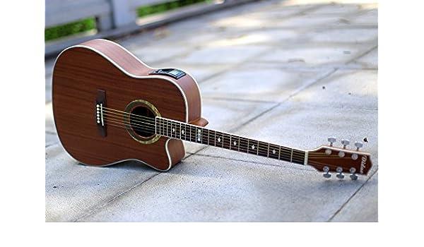 GFEI FOLK GUITAR, principiantes, caja electrica guitarra, macho y ...