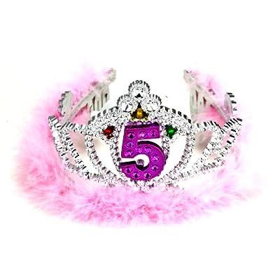Forum Novelties 5th Birthday Flashing Tiara: Toys & Games