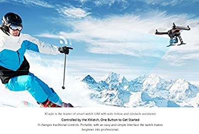 FLYPRO XEagle FPV With 4K HD Camera with Gimbal/XWatch/RC Aerial Photography RTF, Advanced Model Quadcopper Drone