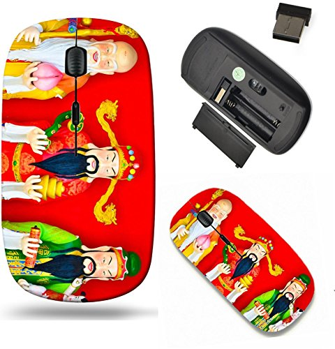 - Liili Wireless Mouse Travel 2.4G Wireless Mice with USB Receiver, Click with 1000 DPI for notebook, pc, laptop, computer, mac book the gods of blessings prosperity and longevity Photo 19431893