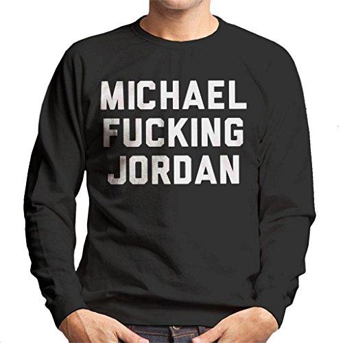 Coto7 Michael Fucking Jordan Men's Sweatshirt by Coto7