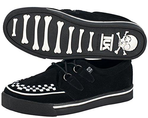 T.U.K. A6293, Sneaker donna Nero nero