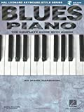 blues piano hal leonard keyboard style series keyboard instruction bk online audio
