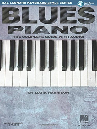 Blues Piano: Hal Leonard Keyboard Style Series (Keyboard Instruction) (Moon Sheet Piano Blue)