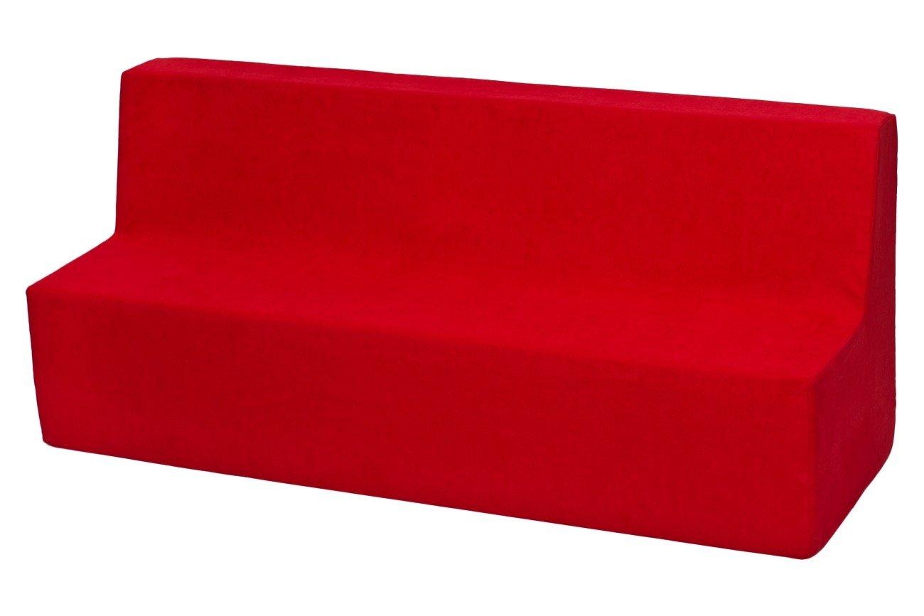 Velinda Canapé, Sofa, Lit, Meubles Chambre D'enfant, Jeu Confort Repos (Couleur: Rouge) Meubles Chambre D' enfant