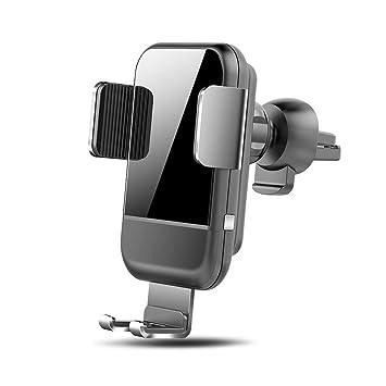 Rápida Cargador Inalámbrico Coche 7.5W,Sensor de Gravedad ...