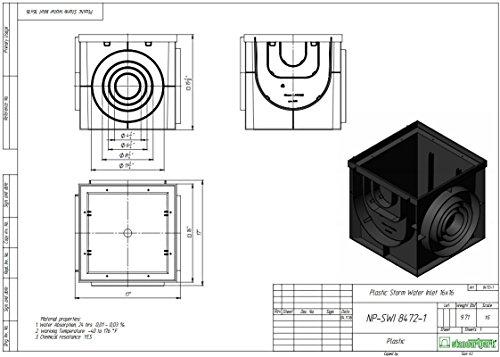 Standartpark - 16x16 Catch Basin W/ Cast Iron Grate Package! by Standartpark (Image #5)
